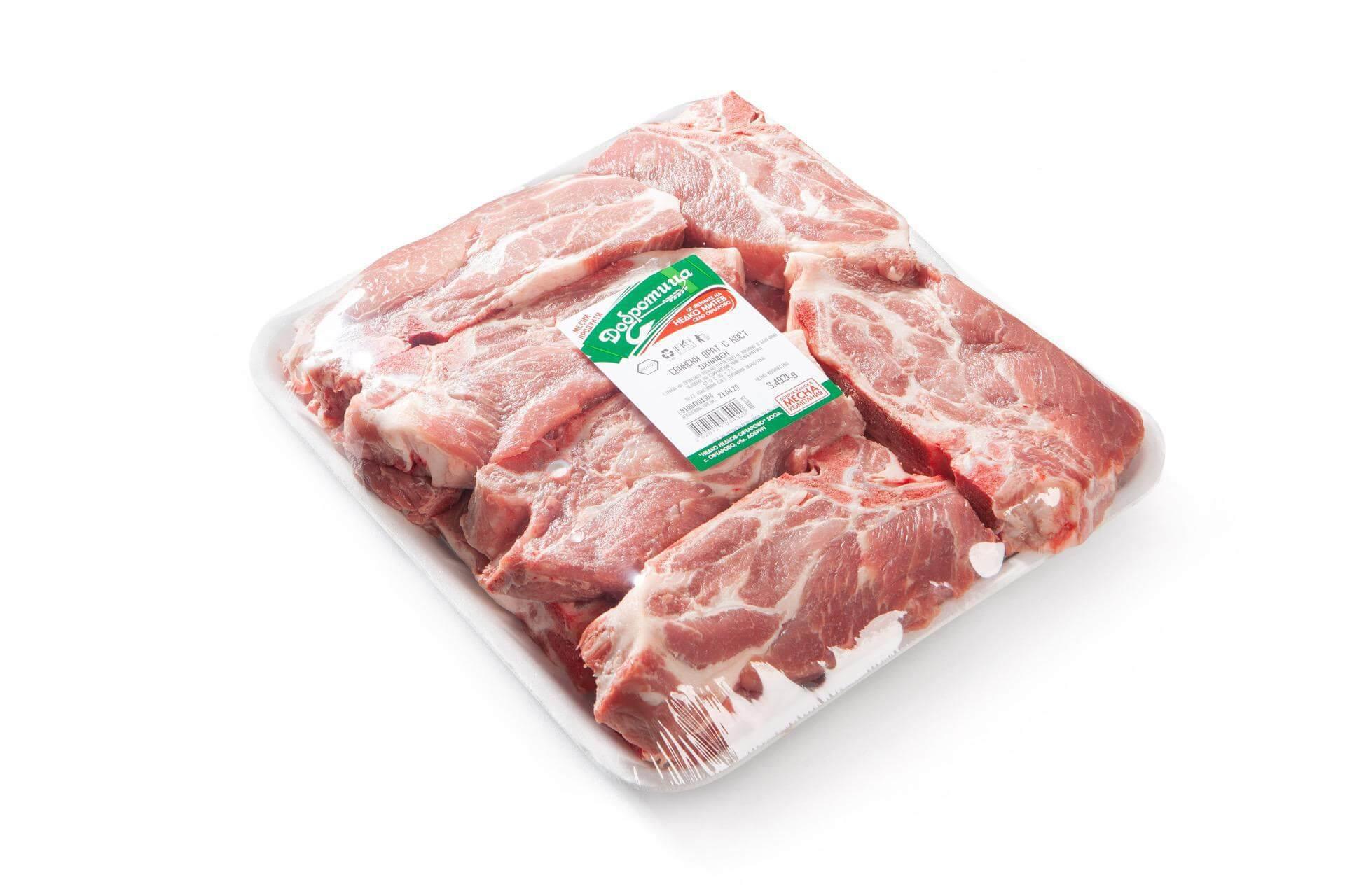 Свински врат без кост
